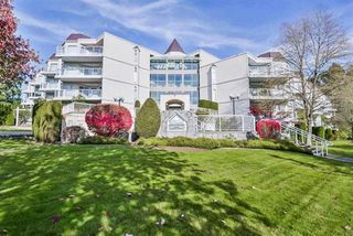 """Main Photo: 217 1219 JOHNSON Street in Coquitlam: Canyon Springs Condo for sale in """"MOUNTAINSIDE PLACE"""" : MLS®# R2350890"""