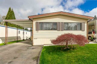 "Main Photo: 78 2315 198 Street in Langley: Brookswood Langley Manufactured Home for sale in ""Deer Creek Estates in Brookswood"" : MLS®# R2359582"