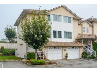 "Photo 1: 57 3087 IMMEL Street in Abbotsford: Central Abbotsford Townhouse for sale in ""Clayburn Estates"" : MLS®# R2498708"