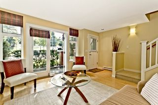 """Photo 1: 3683 W 12TH Avenue in Vancouver: Kitsilano Townhouse for sale in """"Twenty on the Park"""" (Vancouver West)  : MLS®# V909572"""
