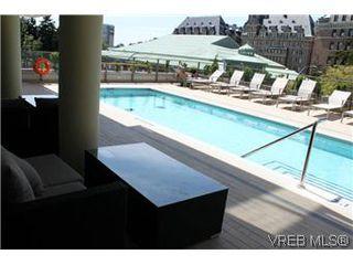 Photo 3: 1008 707 Courtney Street in VICTORIA: Vi Downtown Condo Apartment for sale (Victoria)  : MLS®# 288501