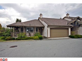 "Photo 1: # 48 20222 96TH AV in LANGLEY: Walnut Grove Townhouse for sale in ""WINDSOR GARDENS"" (Langley)  : MLS®# F1225707"