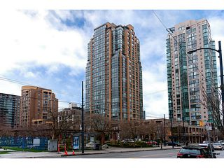 "Photo 1: 410 1188 RICHARDS Street in Vancouver: Yaletown Condo for sale in ""Park Plaza"" (Vancouver West)  : MLS®# V1055368"