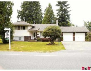 Photo 1: 23105 88TH AV in Langley: Fort Langley House  : MLS®# F2616420