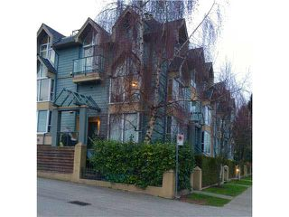 Main Photo: 3027 LAUREL Street in Vancouver: Fairview VW Townhouse for sale (Vancouver West)  : MLS®# V1102275