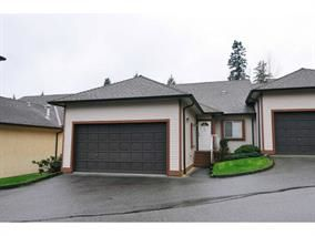 "Photo 1: 49 23151 HANEY Bypass in Maple Ridge: East Central Townhouse for sale in ""STONEHOUSE ESTATES"" : MLS®# R2048913"