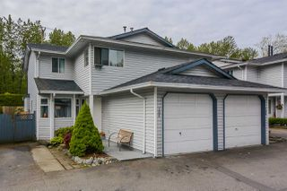 "Photo 1: 105 11255 HARRISON Street in Maple Ridge: East Central Townhouse for sale in ""RIVER HEIGHTS"" : MLS®# R2167830"