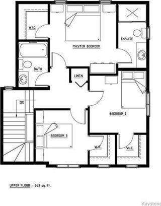 Photo 17: 38 Chelston Gate in Winnipeg: Devonshire Village Residential for sale (3K)  : MLS®# 1717634