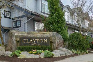 "Main Photo: 13 18839 69 Avenue in Surrey: Clayton Townhouse for sale in ""Starpoint II"" (Cloverdale)  : MLS®# R2249892"