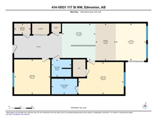 Photo 30: 414 10531 117 Street in Edmonton: Zone 08 Condo for sale : MLS®# E4189497