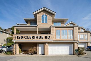 """Photo 1: 1128 CLERIHUE Road in Port Coquitlam: Citadel PQ Townhouse for sale in """"The Summit"""" : MLS®# R2447073"""
