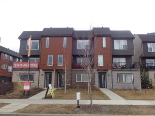 Photo 1: 1079 ROSENTHAL Boulevard in Edmonton: Zone 58 Townhouse for sale : MLS®# E4213027