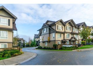 "Photo 1: 21 21867 50 Avenue in Langley: Murrayville Townhouse for sale in ""Winchester"" : MLS®# R2009721"