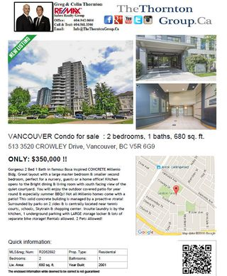 "Photo 22: 513 3520 CROWLEY Drive in Vancouver: Collingwood VE Condo for sale in ""MILLENIO"" (Vancouver East)  : MLS®# R2062892"