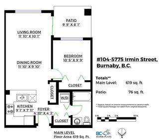 "Photo 4: 104 5775 IRMIN Street in Burnaby: Metrotown Condo for sale in ""Macpherson Walk"" (Burnaby South)  : MLS®# R2142299"