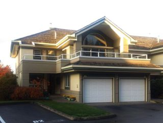 """Photo 1: 82 4001 OLD CLAYBURN Road in Abbotsford: Abbotsford East Townhouse for sale in """"Cedar Springs"""" : MLS®# R2222857"""