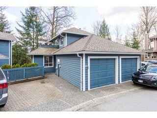"""Photo 1: 62 9000 ASH GROVE Crescent in Burnaby: Forest Hills BN Townhouse for sale in """"ASHBROOK PLACE"""" (Burnaby North)  : MLS®# R2252412"""