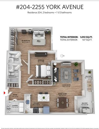 "Photo 17: 204 2255 YORK Avenue in Vancouver: Kitsilano Condo for sale in ""Beach House"" (Vancouver West)  : MLS®# R2287429"