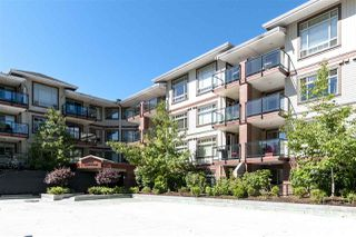"Photo 1: 416 2233 MCKENZIE Road in Abbotsford: Central Abbotsford Condo for sale in ""LATITUDE"" : MLS®# R2329298"