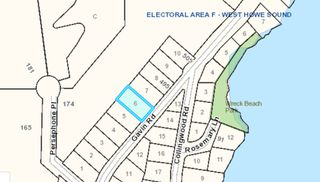 "Photo 1: Lot 6 GAVIN: Keats Island Home for sale in ""Eastbourne"" (Sunshine Coast)  : MLS®# R2348010"