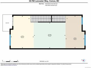 Photo 9: 38 700 LANCASTER Way in COMOX: CV Comox (Town of) Row/Townhouse for sale (Comox Valley)  : MLS®# 819041