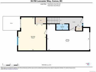 Photo 8: 38 700 LANCASTER Way in COMOX: CV Comox (Town of) Row/Townhouse for sale (Comox Valley)  : MLS®# 819041