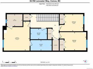 Photo 10: 38 700 LANCASTER Way in COMOX: CV Comox (Town of) Row/Townhouse for sale (Comox Valley)  : MLS®# 819041