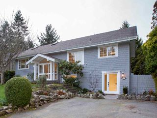 Main Photo: 5727 BLUEBELL Drive in West Vancouver: Eagle Harbour House for sale : MLS®# R2442692