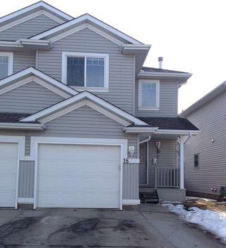Photo 1: 18 13403 Cumberland Road in Edmonton: Zone 27 House Half Duplex for sale : MLS®# E4224636