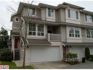 "Photo 1: 67 14952 58TH Avenue in Surrey: Sullivan Station Townhouse for sale in ""Highbrae- Panorama Village"" : MLS®# F1104471"