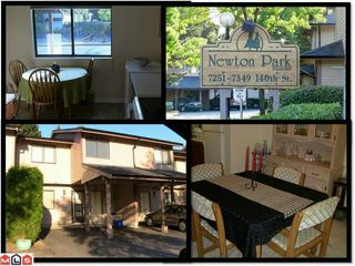 "Photo 1: 133 7325 140TH Street in Surrey: East Newton Townhouse for sale in ""NEWTON PARK"" : MLS®# F1118574"