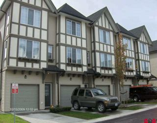 Photo 1: 92 20875 80 Avenue in Langley: Willoughby Heights Townhouse for sale : MLS®# f2923681