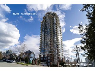 """Photo 1: 1203 4132 HALIFAX Street in Burnaby: Brentwood Park Condo for sale in """"MARQUIS GRANDE"""" (Burnaby North)  : MLS®# V1048050"""