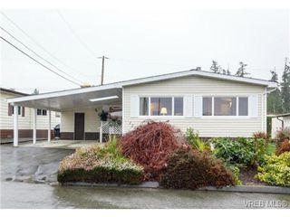 Photo 1: 123 7701 Central Saanich Rd in SAANICHTON: CS Saanichton Manufactured Home for sale (Central Saanich)  : MLS®# 687804