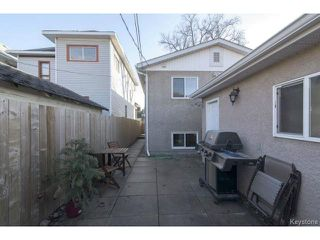 Photo 18: 169 Gordon Avenue in WINNIPEG: East Kildonan Residential for sale (North East Winnipeg)  : MLS®# 1507266