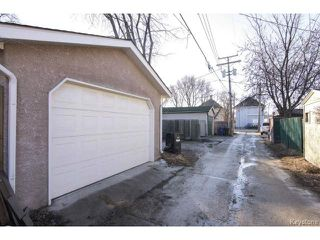 Photo 20: 169 Gordon Avenue in WINNIPEG: East Kildonan Residential for sale (North East Winnipeg)  : MLS®# 1507266