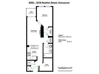 "Photo 19: 206 3278 HEATHER Street in Vancouver: Cambie Condo for sale in ""The Heatherstone"" (Vancouver West)  : MLS®# V1121190"