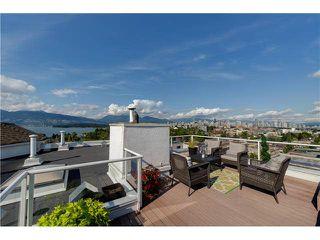 """Photo 2: PH22 2175 W 3RD Avenue in Vancouver: Kitsilano Condo for sale in """"SEA BREEZE"""" (Vancouver West)  : MLS®# V1140855"""