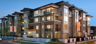 "Main Photo: 411 1128 KENSAL Place in Coquitlam: New Horizons Condo for sale in ""CELADON HOUSE"" : MLS®# R2200905"