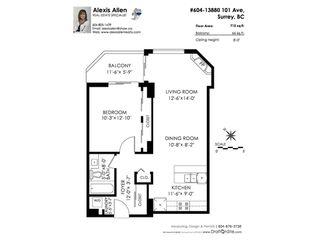 Photo 20: 604 13880 101 Avenue in Surrey: Whalley Condo for sale (North Surrey)  : MLS®# R2208260