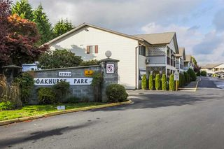 "Photo 1: 62 32959 GEORGE FERGUSON Way in Abbotsford: Central Abbotsford Condo for sale in ""Oakhurst Park"" : MLS®# R2213566"