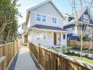 Main Photo: 750 E 11TH Avenue in Vancouver: Mount Pleasant VE House 1/2 Duplex for sale (Vancouver East)  : MLS®# R2347910