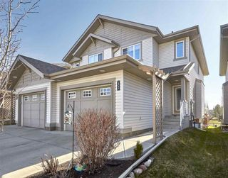 Main Photo: 32 1901 126 Street in Edmonton: Zone 55 House Half Duplex for sale : MLS®# E4162710
