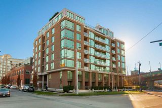"Photo 1: 509 1919 WYLIE Street in Vancouver: False Creek Condo for sale in ""MAYNARDS BLOCK"" (Vancouver West)  : MLS®# R2401456"