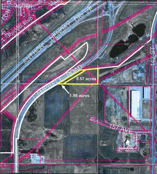 Photo 5: 16003 Campbell Road in Edmonton: Zone 40 Land Commercial for sale : MLS®# E4135373