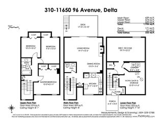 "Photo 20: 310 11650 96 Avenue in Delta: Annieville Townhouse for sale in ""Delta Gardens"" (N. Delta)  : MLS®# R2440110"