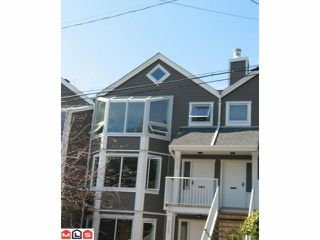 Photo 1: 1115 Elm Street in South Surrey: White Rock Townhouse for sale (South Surrey White Rock)  : MLS®# F1022172