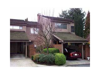 "Photo 1: 4005 VINE Street in Vancouver: Quilchena Townhouse for sale in ""ARBUTUS VILLAGE"" (Vancouver West)  : MLS®# V1043793"