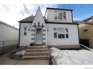 Photo 1: 490 Garlies Street in WINNIPEG: North End Residential for sale (North West Winnipeg)  : MLS®# 1605113
