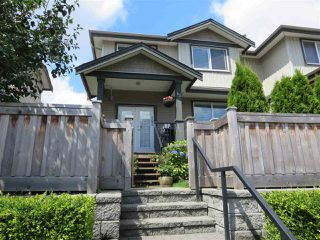 Main Photo: 63 3127 SKEENA Street in Port Coquitlam: Riverwood Townhouse for sale : MLS®# R2090693